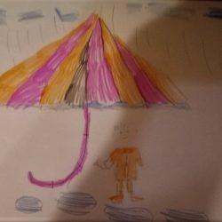 Рисунок - Добрый дождь