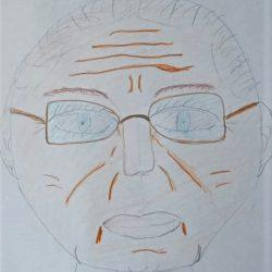 Рисунок - мой дедушка