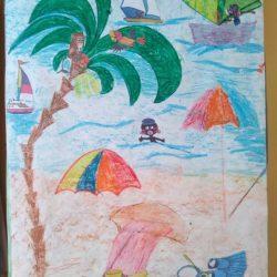 Рисунок — Я люблю лето