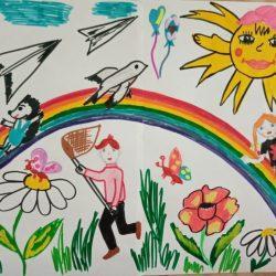 Рисунок — Моё счастливое детство