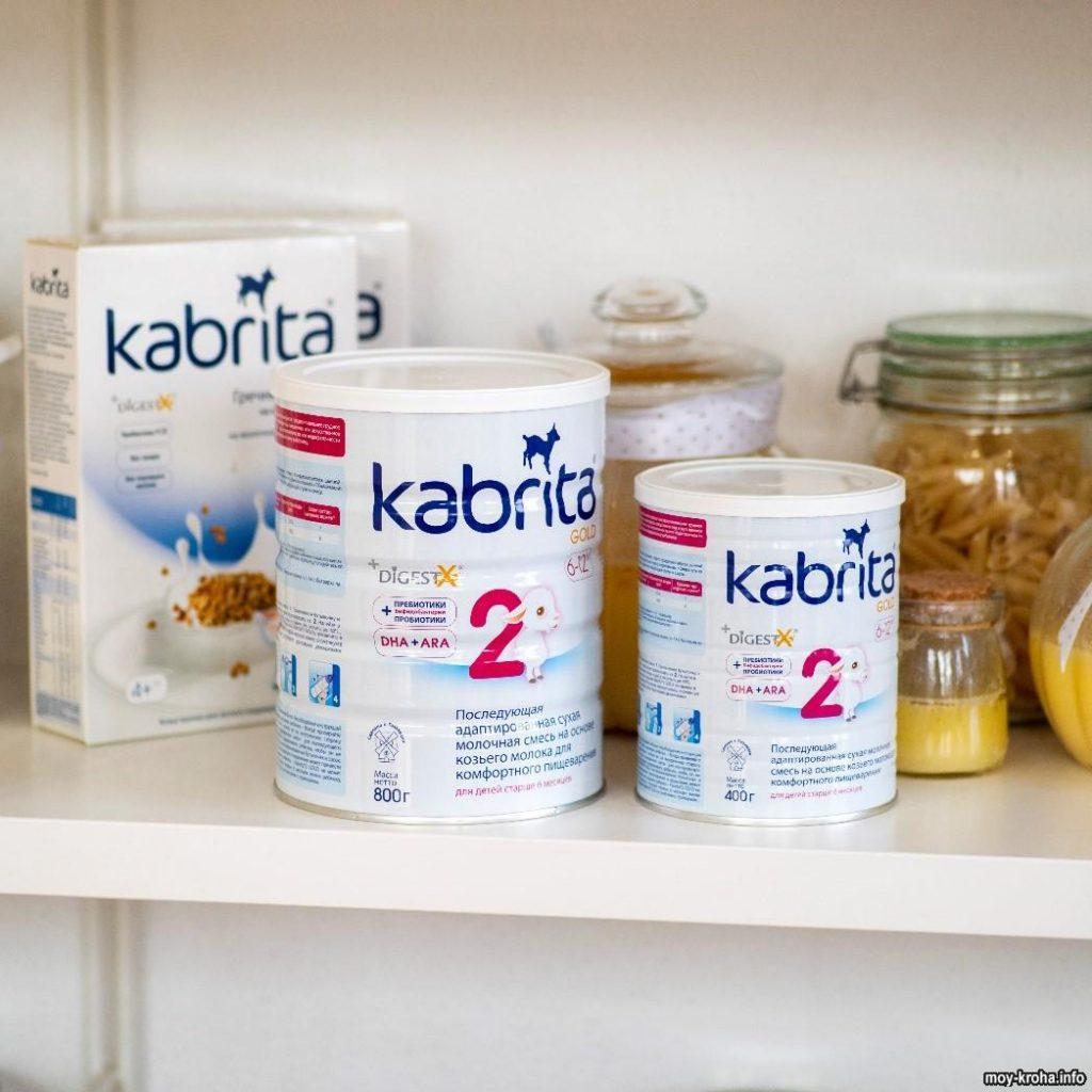 молочная смесь Кабрита