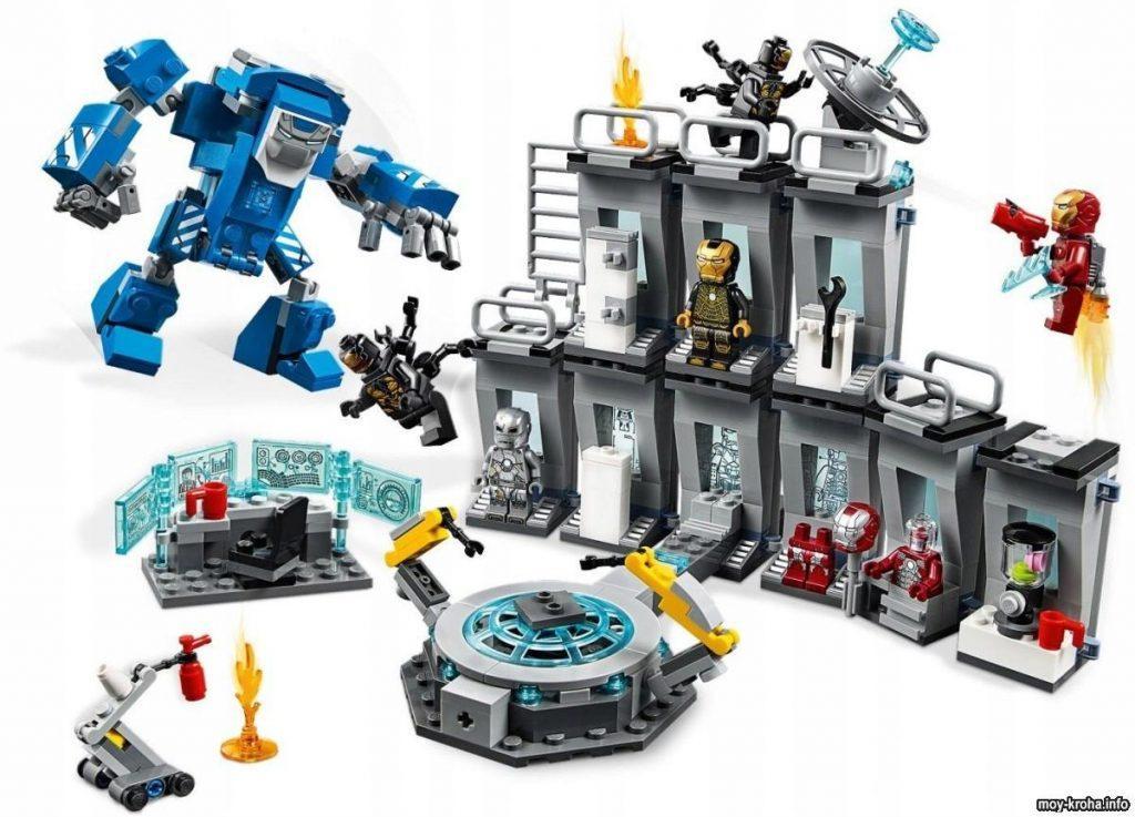 Обзор конструктора Лего Мстители