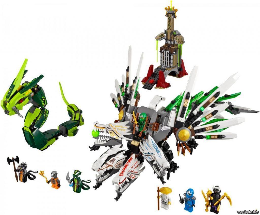 Обзор комплекта Лего Ниндзяго