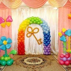 Преимущества оформления праздников воздушными шарами